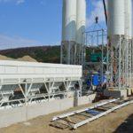 Montáž betonárky INSPECT CTR