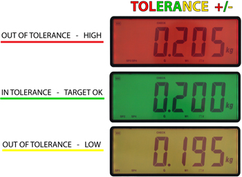 Váhový indikátor DFWLID - kontrolné váženie